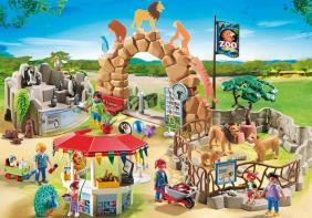 playmobil zoo